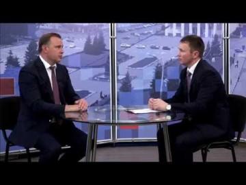Embedded thumbnail for Гость - Владислав Пинаев, временно исполняющий полномочия главы города
