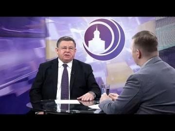 Embedded thumbnail for Гость Алексей Чеканов, президент Свердловской областной федерации по прыжкам на лыжах с трамплина