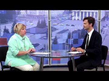 Embedded thumbnail for Гость - Наталья  Якимова, директор центральной городской библиотеки